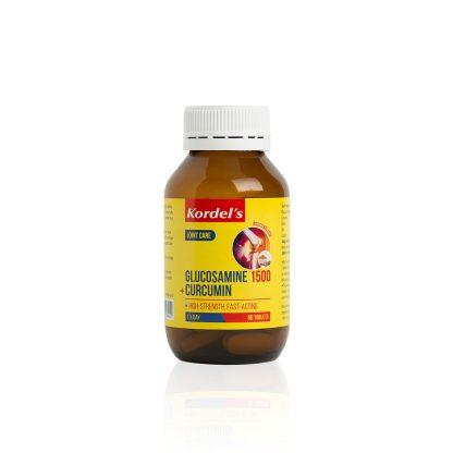 GLUCOSAMINE-1500-CURCUMIN-KDGF1080-Bottle