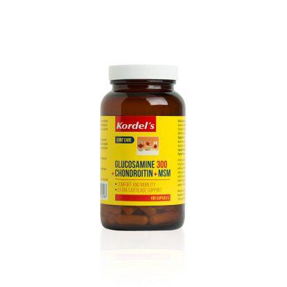 GLUCOSAMINE-300-CHRONDROITIN-MSM-KDGF1184-Bottle