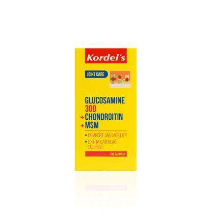 GLUCOSAMINE-300-CHRONDROITIN-MSM-KDGF1184-Box