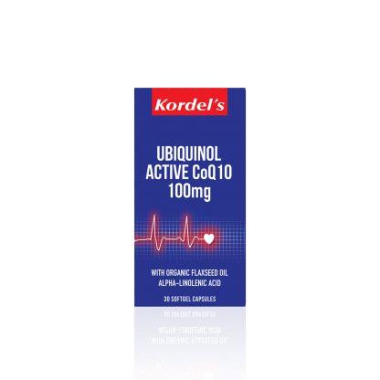 UBIQUINOL-ACTIVE-CoQ10-100mg-30s-box