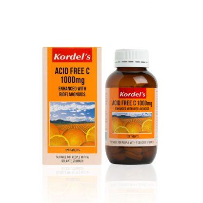 ACID FREE C 1000 mg